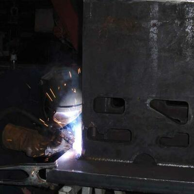 Welding of Steel, Inox and Aluminum